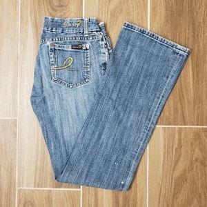 Seven7 straight leg jeans circa 2004